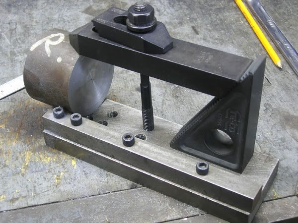 bandsaw small piece clamp power hacksaw too