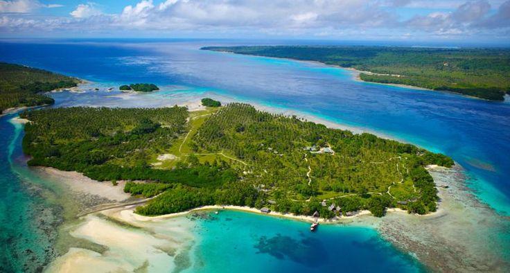 Island escape...Ratua Private Island, Vanuatu  www.islandescapes.com.au