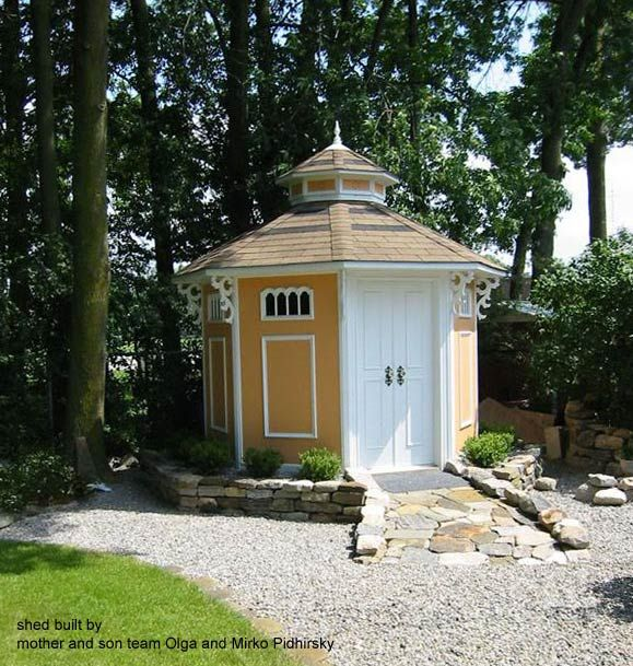 Backyard Bayou Union City Ca: 1000+ Images About Garden Sheds On Pinterest