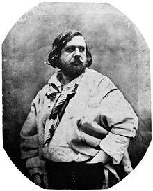 Théophile Gautier par Nadar (1856)