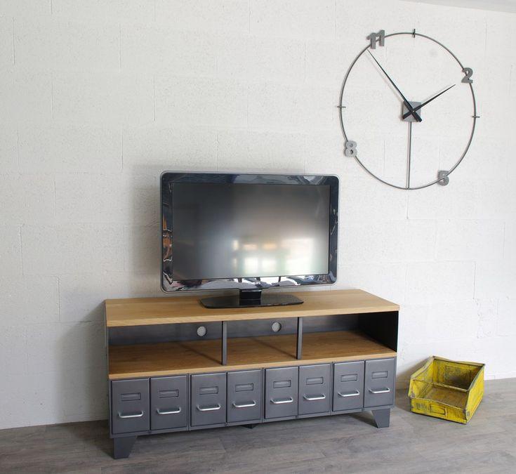 Les 55 meilleures images du tableau cr ation restauration de meuble industriel sur pinterest - Restauration meuble industriel ...