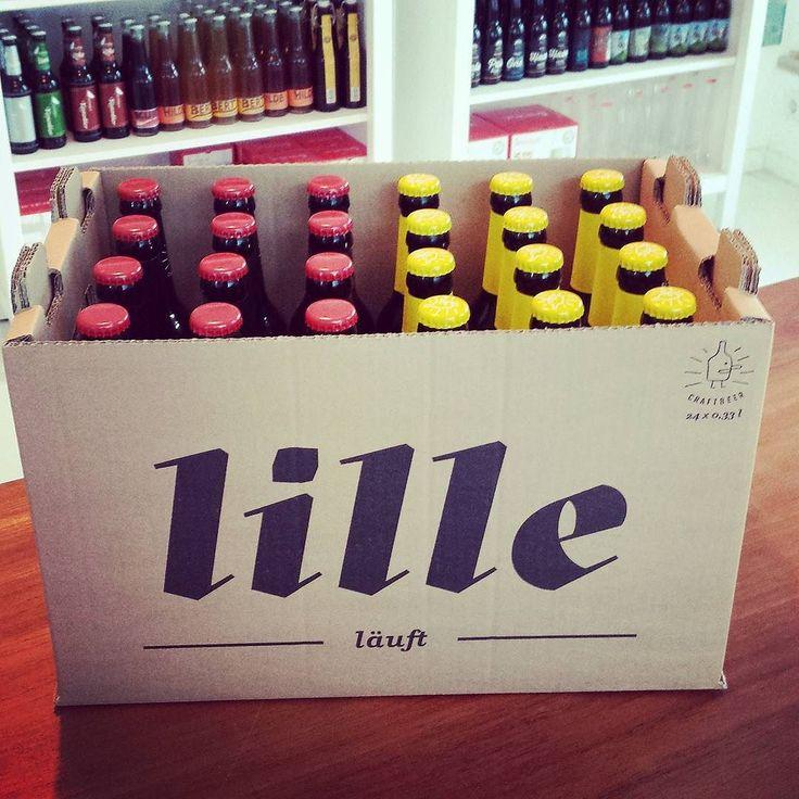 Bier ist Preis. Lille läuft @lillebraeu #craftbeer #kmschnitzeljagd #kiel #gewinnspiel