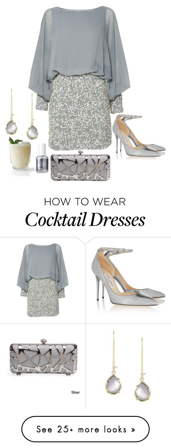 """Untitled #1915"" by kitten89 on Polyvore featuring Kendra Scott, Lace & Beads, Jimmy Choo and Essie"