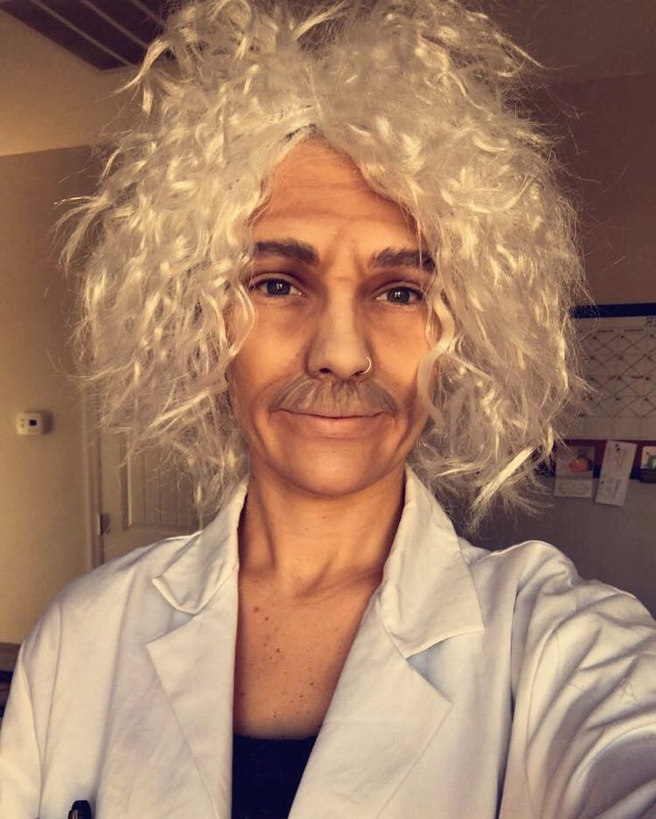 Halloween- Albert Einstein Costume