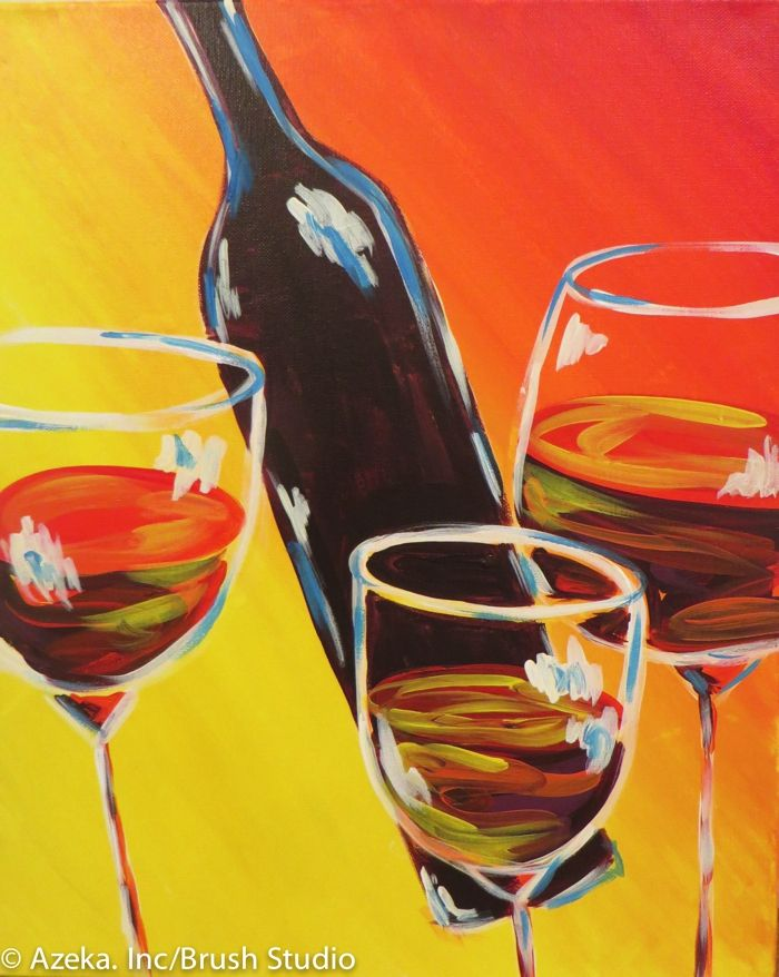 124 best brush studio mn paintings images on pinterest for Wine and painting mn