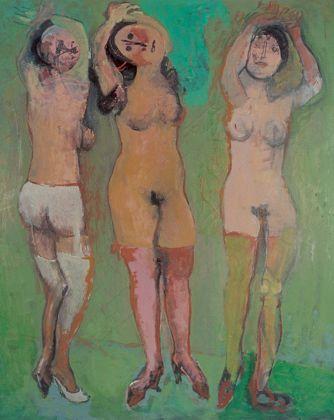 Marino Marini (1901-1980), Le tre grazie/The three Graces, 1945