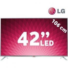 """LG 42LB580N 42"""" 100HZ USBMOVİE WIFI SMART FULL HD LED ( LG TÜRKİYE GARANTİLİDİR ) KOD: 42LB580N Liste fiyatı: 1,400.00 TL   Fiyat : 1,139.00 TLKDV DAHİL Kazancınız 261.00 TL 50 Tl Hediye çeki indirimi 1089 TL"""