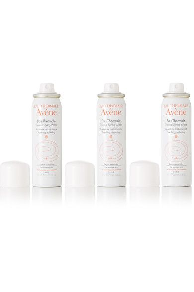 Avene - Thermal Spring Water Spray, 3 X 50ml - Clear - one size
