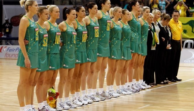 23 - Australian Diamonds mid-courter Chelsea Pitman had the responsibility of care for team mascot Thumper for last year's World Netball Championships as the youngest member of the team at 23 years old. We will reveal tomorrow who has the duty of caring for Thumper during this year's Holden Netball Test Series...