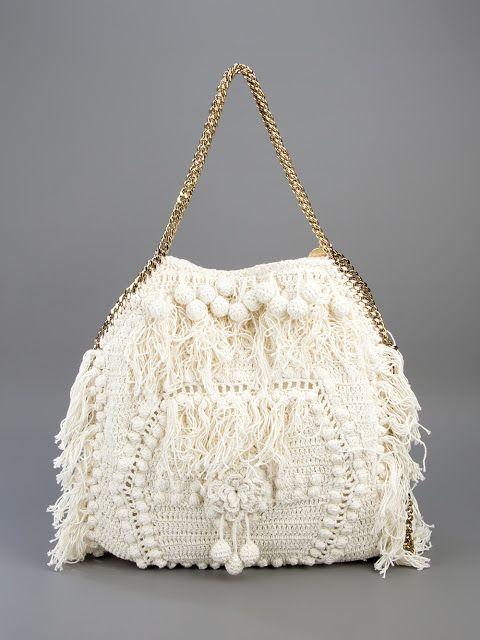 Stella Mccartney crochet purse