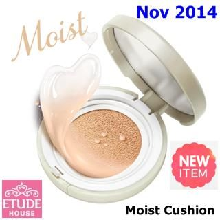 New Nov  2014   US$21.9  [ EtudeHouse ] Precious Mineral Moist Any Cushion SPF50+ PA+++ 15g (New 2014), Korean Best Cosmetics, Free shipping