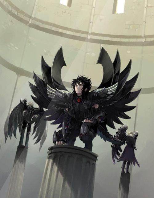 Jueces del Inframundo. Aiacos de Garuda, Minos de Grifo y Radamanthys de Wyvern 2.