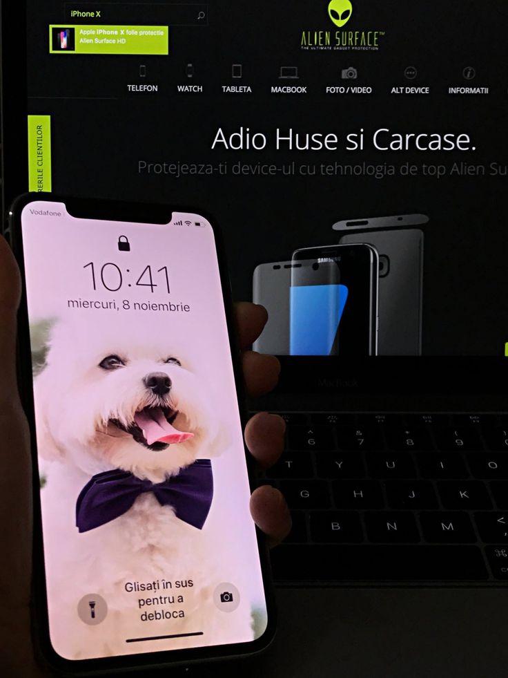 🆕🙃Un telefon de nota X, merită o protecție de nota X.👌🏻  Nu mai amâna!  👉🏻Comandă aici folia #AlienSurface™ pentru #iPhoneX: https://aliensurface.ro/produs/apple-iphone-x-folie-protectie-alien-surface-hd.html
