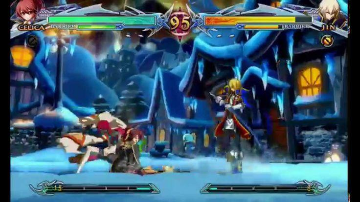 Blazblue ChronoPhantasma Extend: Arcade Mode Celica