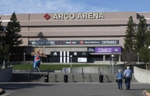 Arco Arena, the home of the Sacramento Kings NBA basketball team