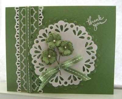 Открытка зеленая своими руками, открытки