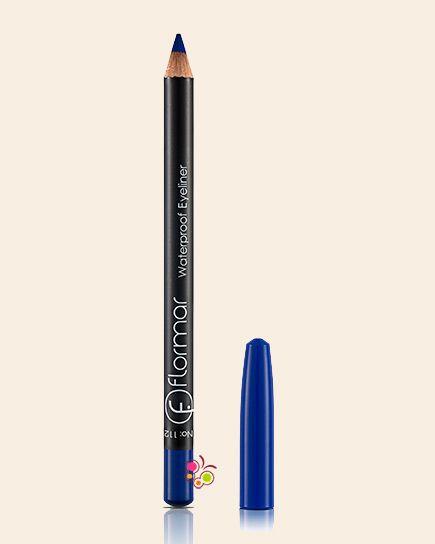 FLORMAR Waterproof Eyeliner Göz Kalemi 112 Parlak Mavi