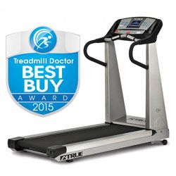 True Z5.0 Treadmill Review - Our 2015 best buy winner for the $3,000 to $3,999 range! The classic design that put True on the map. It is a great design if you want a full-featured, quality treadmill and have limited room. Also is quiet and soft- not bad but what can you expect for nearly $4k.