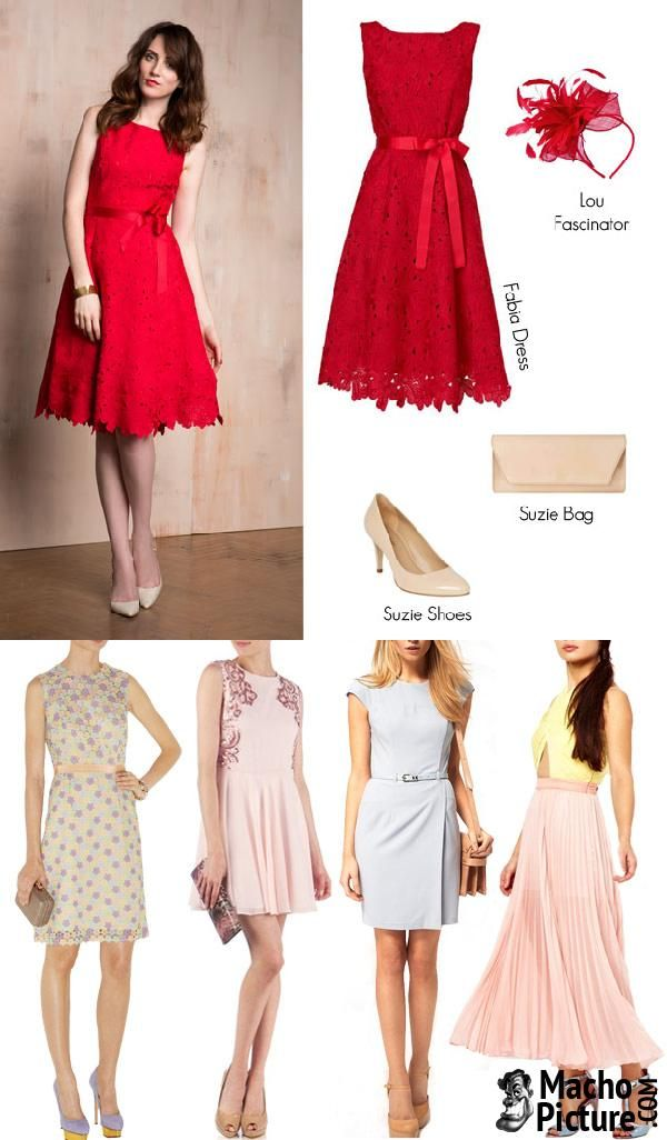 Beautiful Spring wedding guest dresses