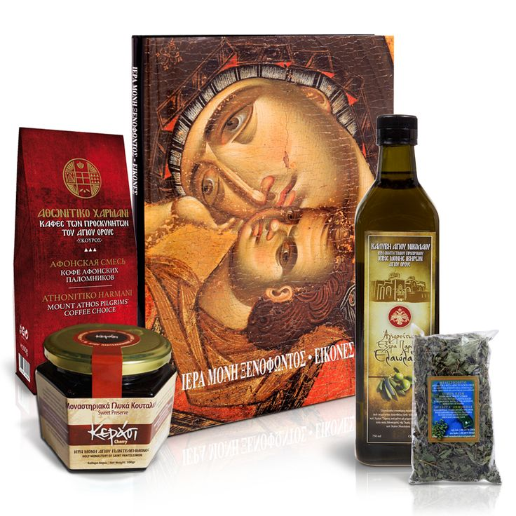 The Mount Athos product exhibition wanting to thank you for your love and support has created this gift package that contains unique monastery products.  Η Έκθεση προϊόντων Αγίου Όρους θέλοντας να σας ευχαριστήσει για την αγάπη και την στήριξή σας ετοίμασε ένα πακέτο δώρου με μοναδικά μοναστηριακά προϊόντα. #gift #package #monastery #mount #athos #mt #athos #crafts #products #orthodox #handicrafts #shop #holymountathos #agiooros #agionoros #greek #orthodoxy
