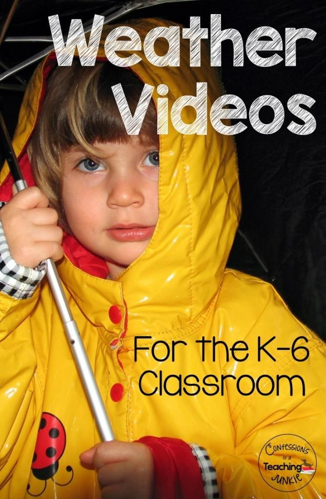 This PDF file contains links to weather videos found on YouTube that are perfect for use in a  K-6 classroom unit on weather and or clouds.