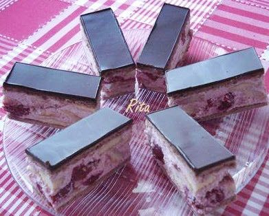 TraRita sütödéje és egyéb munkái : Konyakmeggyes szelet
