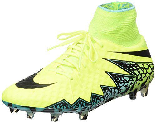 Nike - Botas de fútbol para hombre electro purple/volt-black, color, talla 12.5