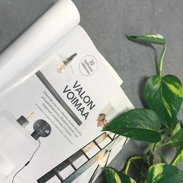 Laura Väres design Laaka in the December issue of Koti ja Keittiö  #lauraväre #laaka #sessakdesign #kotijakeittiö #interiormagasinet #interior #interiordesign #design #finnishdesign #designfromfinland #sessaklighting #sessak #homelighting #interiordesigner #interiorinspiration #scandinaviandesign
