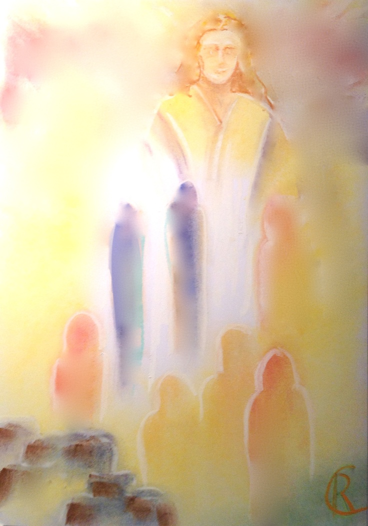 The Guardian of the Higher Threshold, Christ and Michael the countenance of Christ