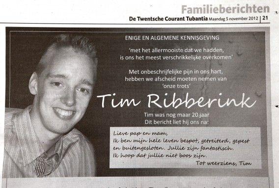 NRC - Verontwaardigde reacties op 'smakeloze' nepbrief aan ouders Tim