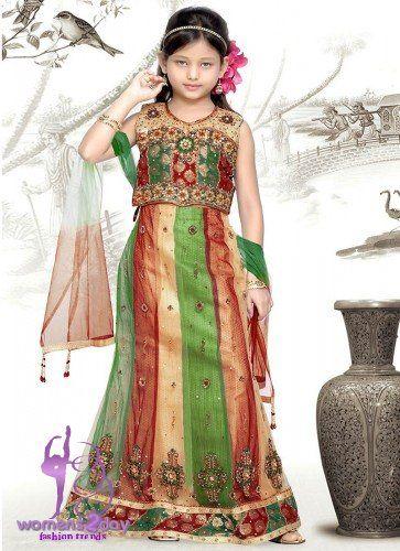 Pakistani fashion for girls 2013 - kids frocks Pakistani designs 2013