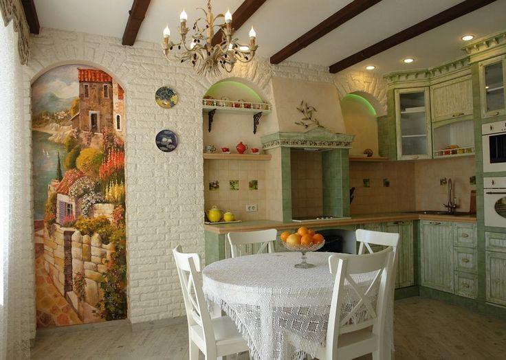* Добро в дом: Художественная роспись стен в интерьере офиса, квартиры или дома…
