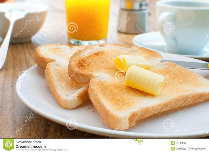 Breakfast Toast And Coffee Stock Photos - Image: 25106603