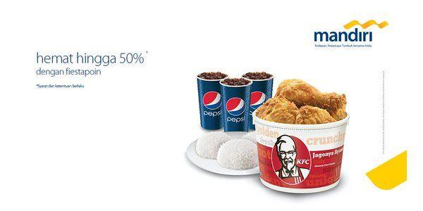 KFC Promo Spesial Mandiri Fiestapoin