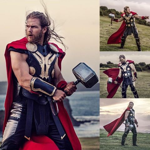 Badass Thor cosplay by the awesome @thorofoz photo by…