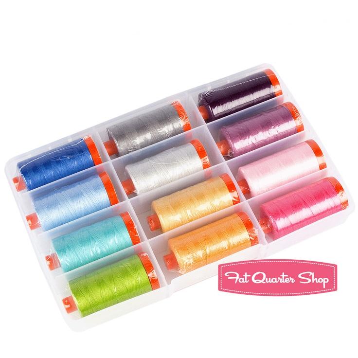 simply color large aurifil thread box v and co sc50vc12 fat quarter shop - Aurifil Thread Color Chart