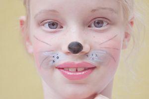 Kinderschminken: Maus