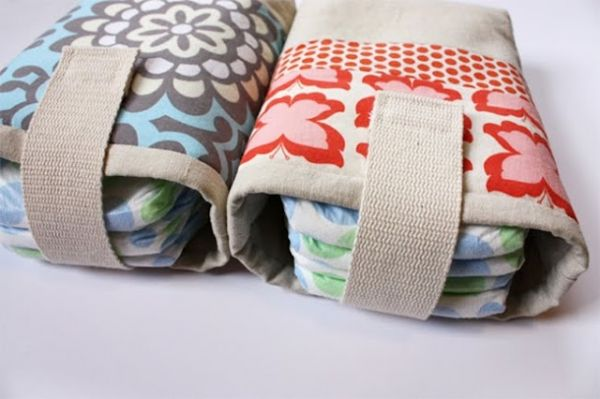 Diaper pouch-Sewing for Baby: 20 Great Gear Tutorials and Patterns | Lil Blue Boo #http://www.michaelkorsoutletsale.net/
