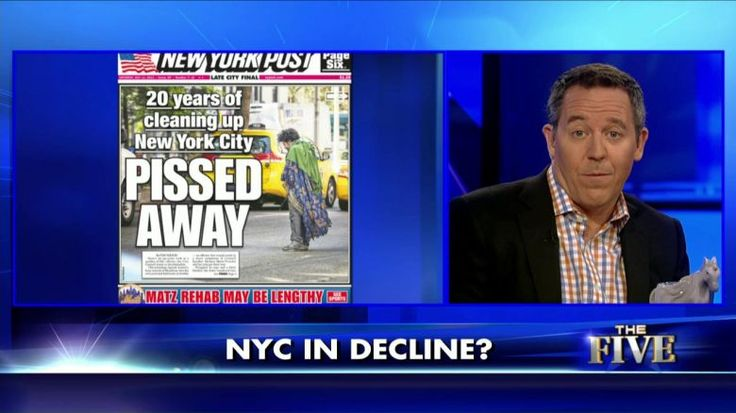 7/14/15 - Greg Gutfeld:  De Blasio, Liberal Policies Turning NYC into an Outhouse | Fox News Insider