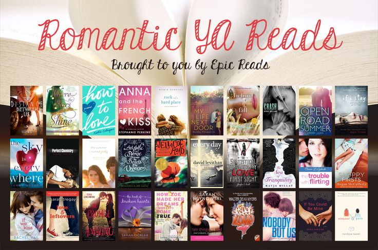 The perfect reading list for any day you want to fall in love with a good YA love story.