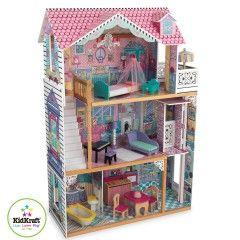 KidKraft Puppenhaus Annabella Großes Puppenhaus für Biegepuppen. Höhe ca. 120 cm