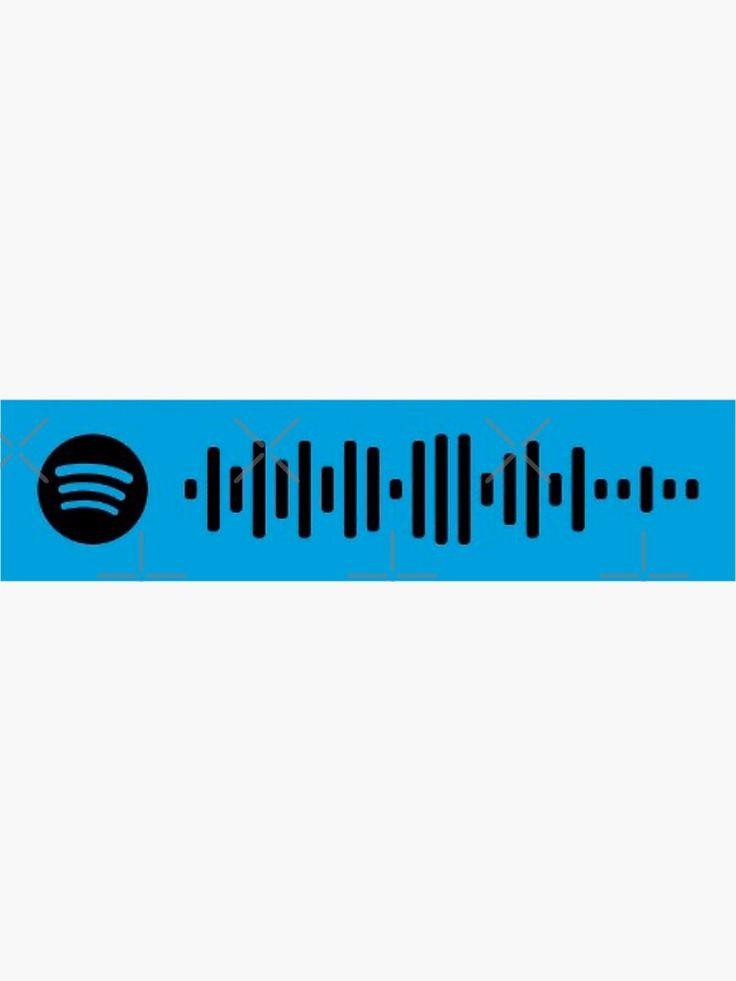 Play date spotify scan code by melanie martinez sticker