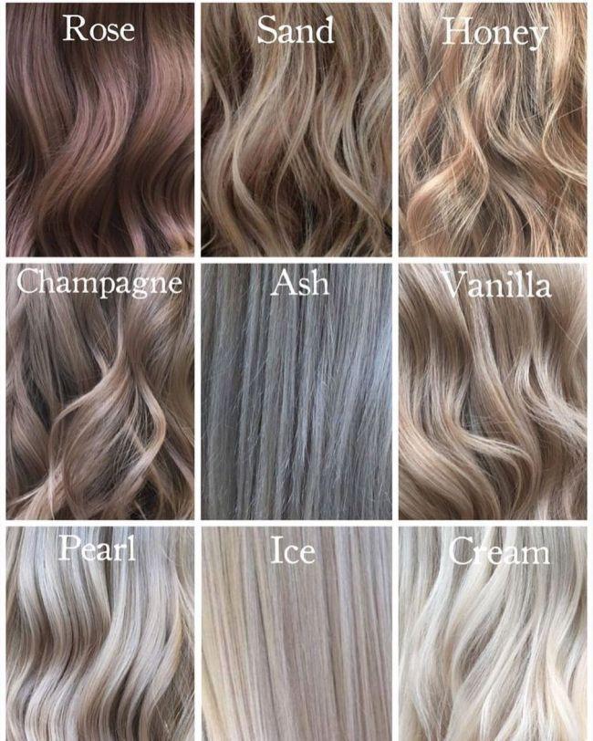 Coupes De Cheveux Pour La Face Ovale 2018 Champagne Hair Color