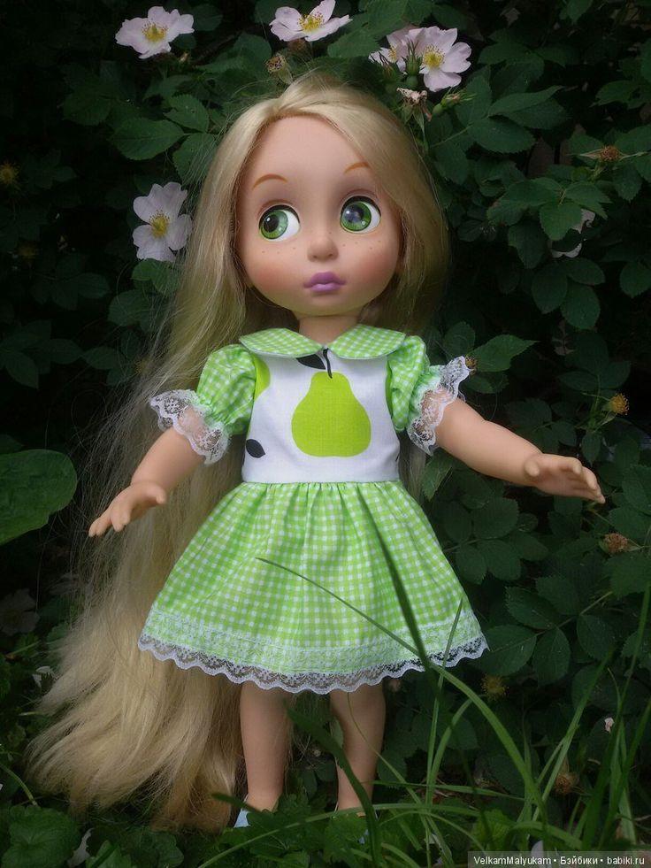 Летние платья для кукол Дисней Аниматор / Одежда для кукол / Шопик. Продать купить куклу / Бэйбики. Куклы фото. Одежда для кукол