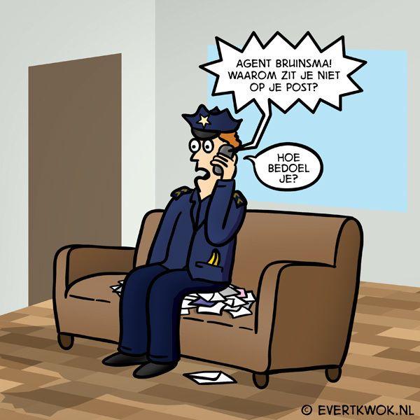 Beetje saai, dit concert. #cartoon -Evert Kwok
