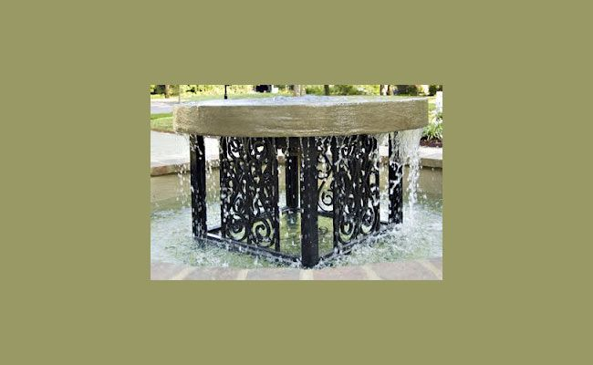 Gorgeous Fountain by Black Dog Salvage!