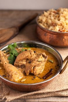 Dahi Chicken Curry Doi Murgh | Chicken Curry in Yogurt Sauce | whitbitskitchen.com