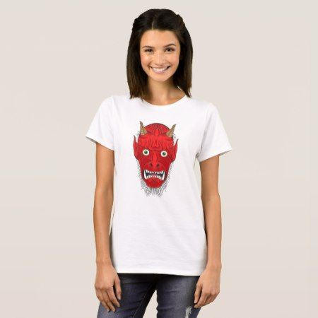 Demon Illustration T-Shirt - tap to personalize and get yours