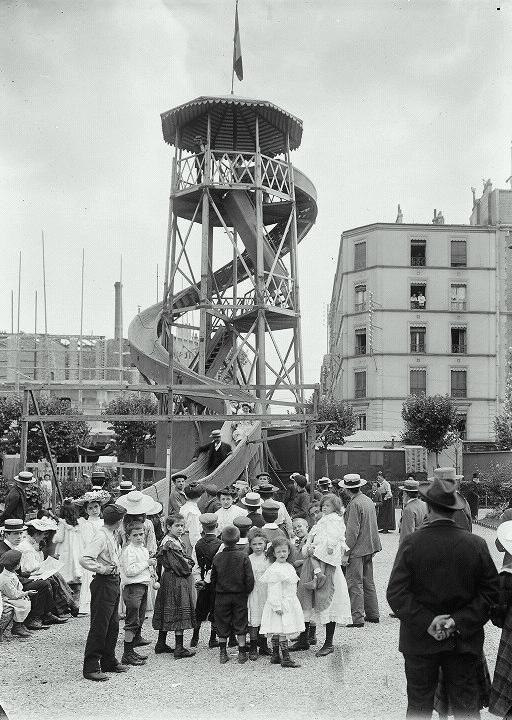 Luna Park in Paris 1900