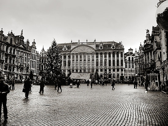 my home for 12 years. <3 brussels